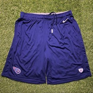 Nike Shorts Titans Navy Blue